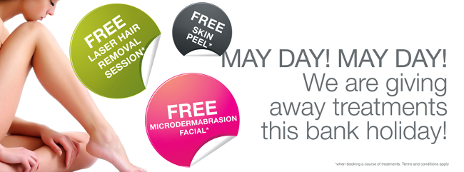 MAY DAY! Bank Holiday Offers