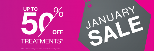 HAPPY NEW YEAR! With the festivities over, don't get the January Blues – Start the New Year by taking advantage of Miravue Skin Clinic's January SALE! * Up to 50% OFF Laser Hair Removal Treatments
