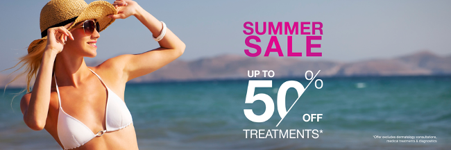 Our sale this June mean you can spoil yourself and get ready to look good in the sun this summer!